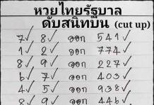 เลขดับสนิทบนตัวเดียว ล้าน% 1/6/63