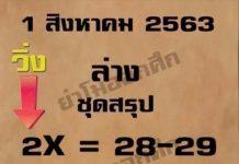 หวยธนะวัฒน์ ย่าโมออกศึก 1/8/63