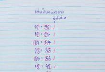 หวยแนวทาง นู๋น้ำ สมาย 16/11/63