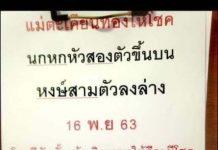 ปริศนานครสวรรค์งวดนี้ กุมารทองให้โชค16/11/63