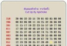 หวยอภิโชคออนไลน์ดอทคอม เลขดับอภิโชค1/3/64