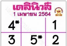 หวยไทยรัฐ1/4/64เลขมหาทักษา