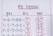 หวยทำมือ ต่อกฤษณะ1/4/64