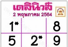หวยไทยรัฐ2/5/64เลขมหาทักษา